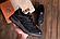 Кроссовки мужские кожаные MERRELL vlbram Black реплика, фото 4