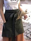 Хлопковый передник (фартук) Grass, фото 4