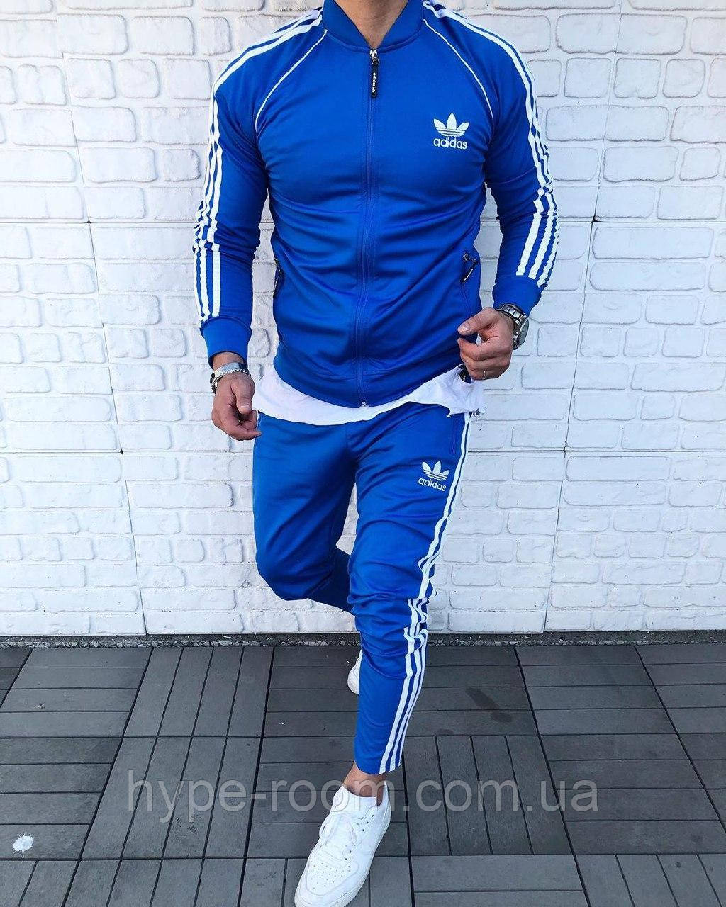 Мужской Спортивный Костюм в стиле Adidas / Турция(размер S,XL,XXL)
