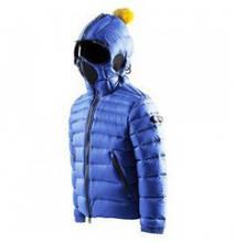 Модная куртка термо с очками для мальчика AI RIDERS Италия JK103K CD4 Синий