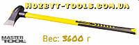 Колун кованый 3600 г, ручка из стекловолокно MASTERTOOL 05-0211