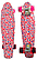 Скейт (пенни борд) Penny board со светящимися колесами разные цвета, фото 6