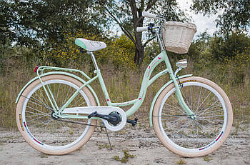 Велосипед VANESSA Vintage 26 mint Польща