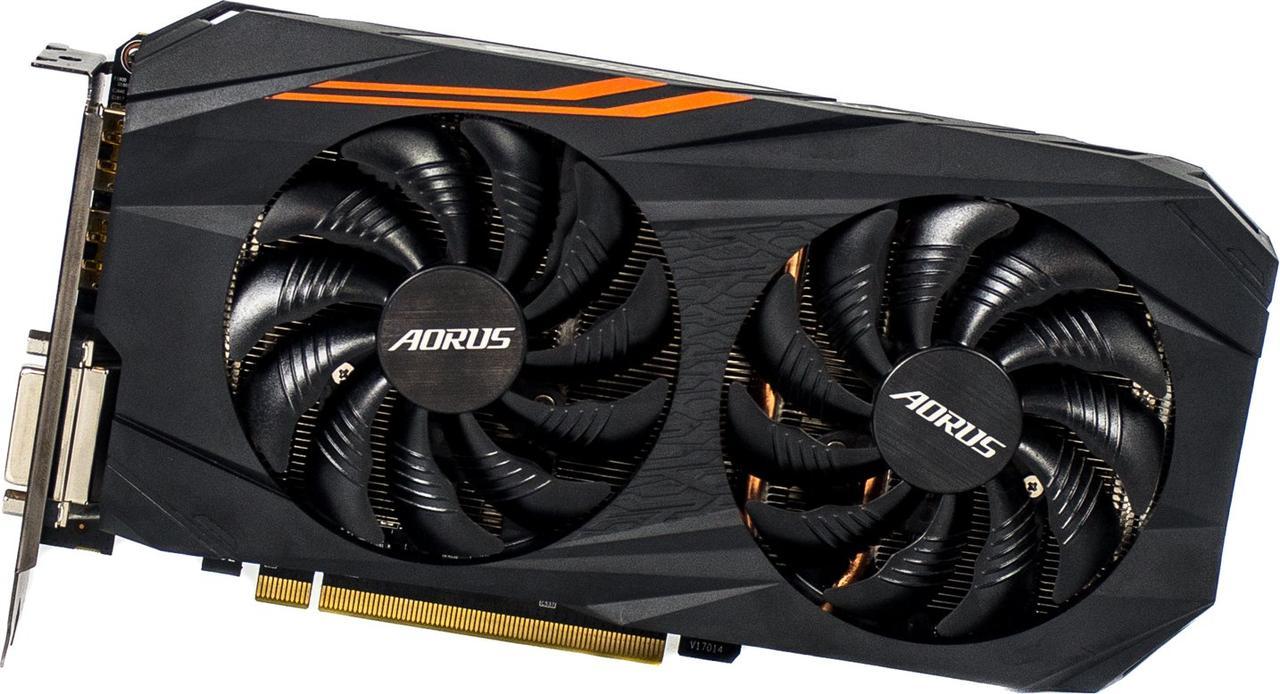 Gigabyte PCI-Ex Radeon RX 570  4GB GDDR5 (256bit) (1280/7000) (DVI, HDMI, 3 x DPort)