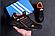 Чоловічі шкіряні кросівки Adidas Terrex Orange (репліка), фото 3