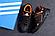 Чоловічі шкіряні кросівки Adidas Terrex Orange (репліка), фото 4