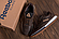 Мужские кожаные кроссовки  Reebok Classic Leather Trail Chocolate реплика, фото 3