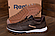 Мужские кожаные кроссовки  Reebok Classic Leather Trail Chocolate реплика, фото 4