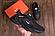 Мужские кроссовки кожаные NIKE AIR 270 чёрные реплика, фото 2