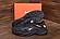 Мужские кроссовки кожаные NIKE AIR 270 чёрные реплика, фото 3