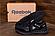 Чоловічі шкіряні кросівки Reebok SPRINT TR Black репліка, фото 3