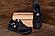 Чоловічі шкіряні кросівки Reebok SPRINT TR Black репліка, фото 4
