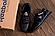 Чоловічі шкіряні кросівки Reebok SPRINT TR Black репліка, фото 5