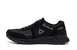 Мужские кожаные кроссовки Reebok SPRINT TR Black реплика, фото 6