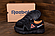 Мужские кожаные кроссовки в стиле Reebok Classic Tracking Orange, фото 2