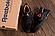 Мужские кожаные кроссовки в стиле Reebok Classic Tracking Orange, фото 3