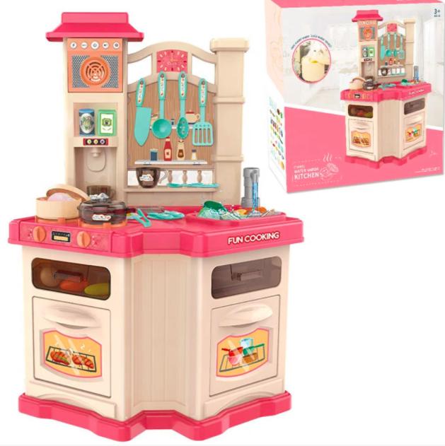 Кухня детская с циркуляцией воды + холодильник духовка и посудомойка