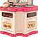 Кухня детская с циркуляцией воды + холодильник духовка и посудомойка, фото 5