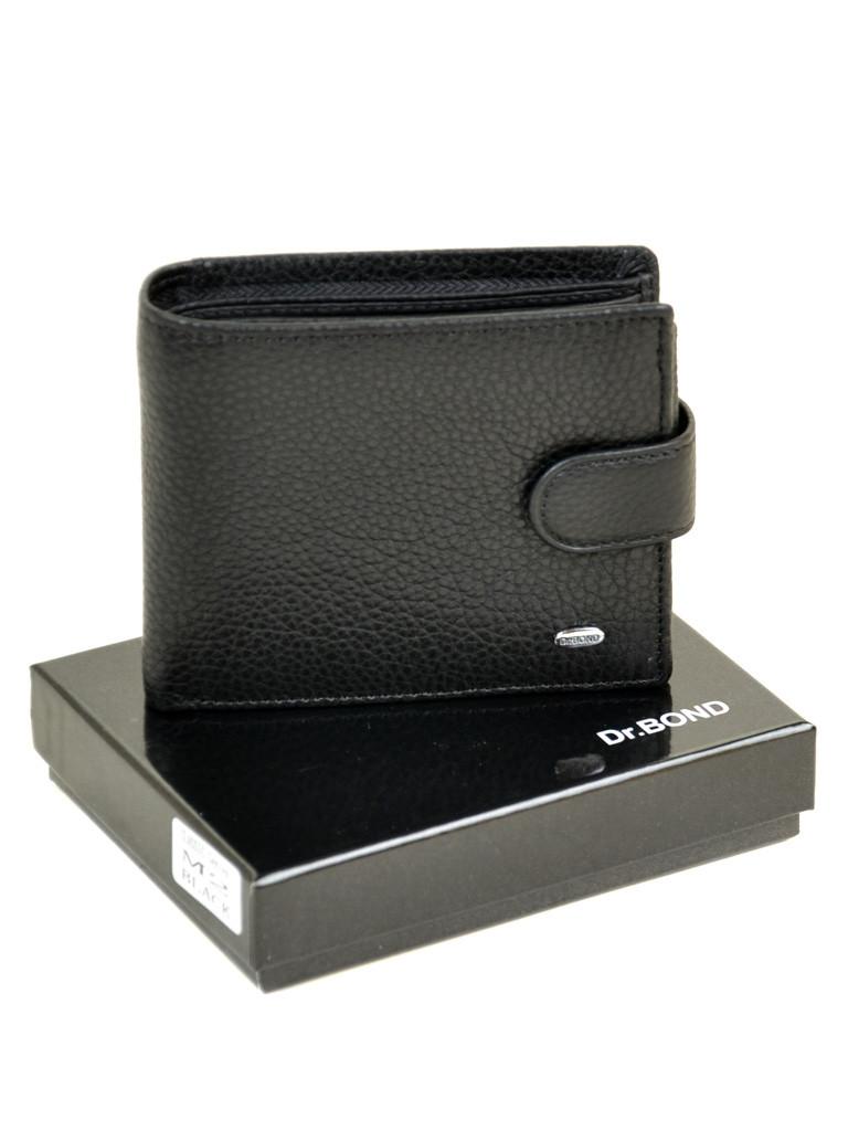 Мужской кожаный кошелек DR. BOND с RFID защитой от скачивания данных