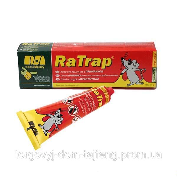 Клей от грызунов Ra Trap с приманкой