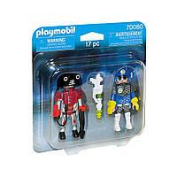 """Ігровий набір """"Космічний поліцейський і злочинець"""" Playmobil (4008789700803)"""