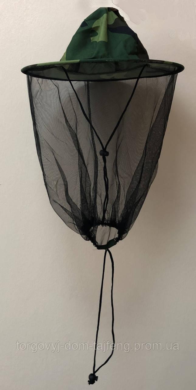 Капелюх з сіткою від комарів (100% бавовна)