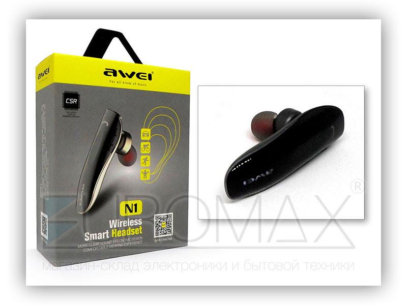 Гарнитура Bluetooth AWEI N1-BT