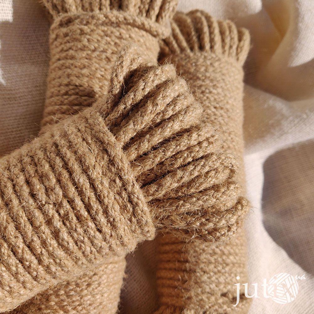 Шнур джутовый (плетеный) 6 мм