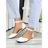 Туфлі, босоніжки жіночі пудрові натуральна шкіра, фото 2