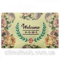 """Придверні килимок """"Welcome home"""" 38*58 см"""