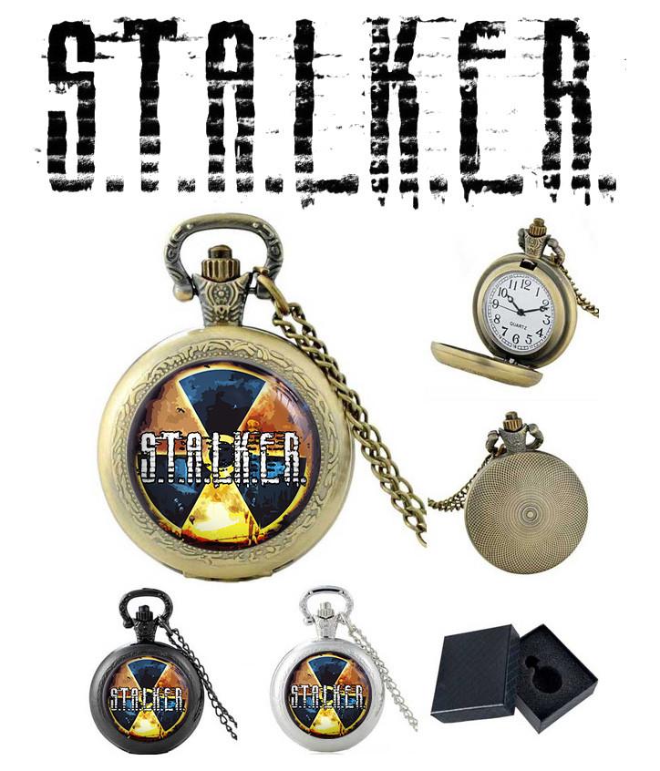 """Карманные часы Сталкер """"Радиация-2"""" / S.T.A.L.K.E.R."""
