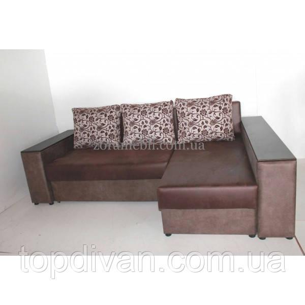 """Кутовий диван """"Опера"""" Люкс. тканина 15"""