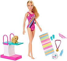 Игровой набор Барби Чемпион по плаванию