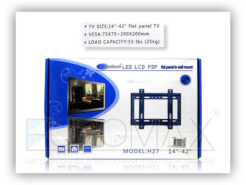 Настенное крепление для телевизора 14-42 H27