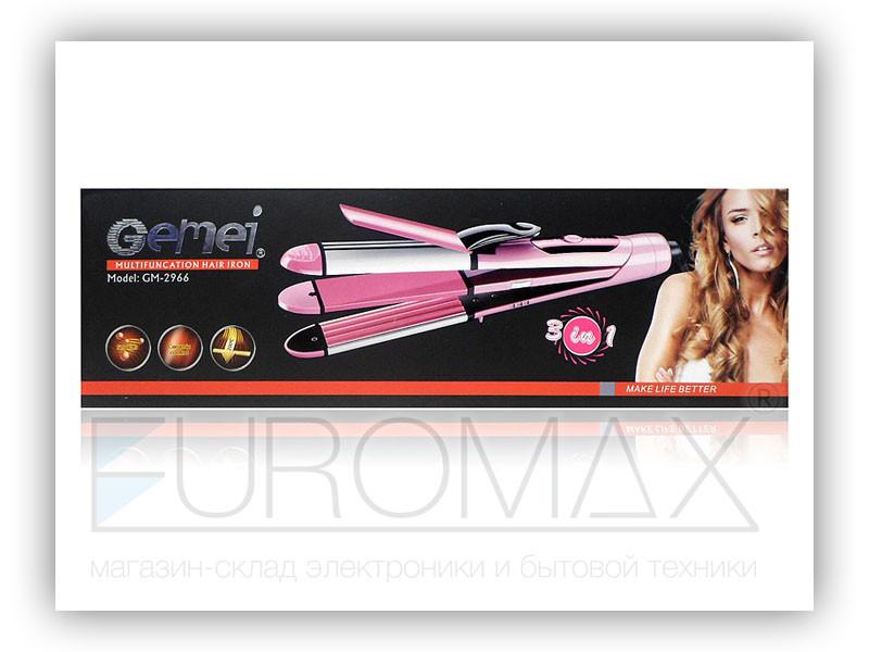 Утюжок для волос плойка Gemei GM-2966 40шт 9206