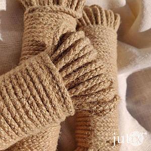 Шнур джутовый (плетеный) 6 мм - 200 метров