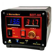 """Пуско-зарядное устройство """"Master Watt"""" БОТ-60 для аккумуляторов 12-24В 60А/40А"""