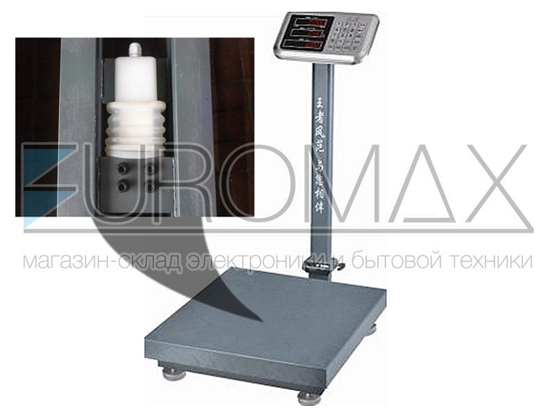 Весы электронные торговые BITEK 100кг с усиленной платформой и металл. кнопками 30х40см YZ-909-G7S-100kg