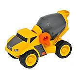 Бетономішалка іграшкова VOLVO Кlein -жовта, фото 3