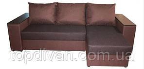 """Кутовий диван """"Опера Універсал"""" (Брістон) Габарити: 2,53 х 1,63 Спальне місце: 2,00 х 1,60"""