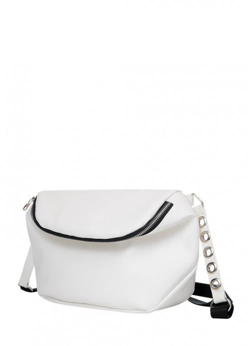 Белая маленькая сумочка через плечо Сумочка кросс боди для девушки