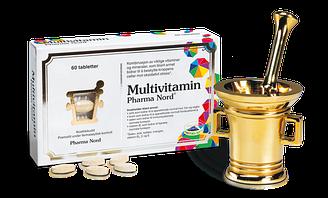 Мультивитамины Pharma Nord - 60 таблеток Норвегия