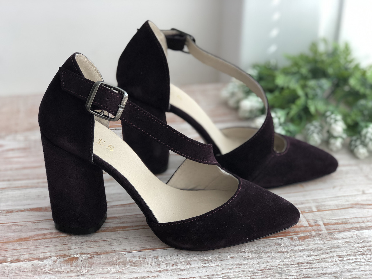 Кожаные женские туфли 193 б/з размеры 36-40