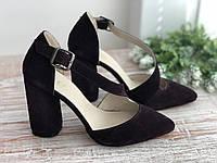 Кожаные женские туфли 193 б/з размеры 36-40, фото 1
