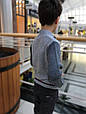 Детский кардиган для мальчика BIMBUS Италия 153IFFL010 серый, фото 4