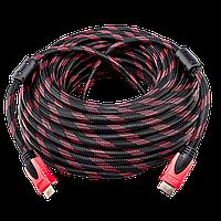 HDMI-HDMI 20,0м, Ver 1,4 for 3D, доп. оплетка