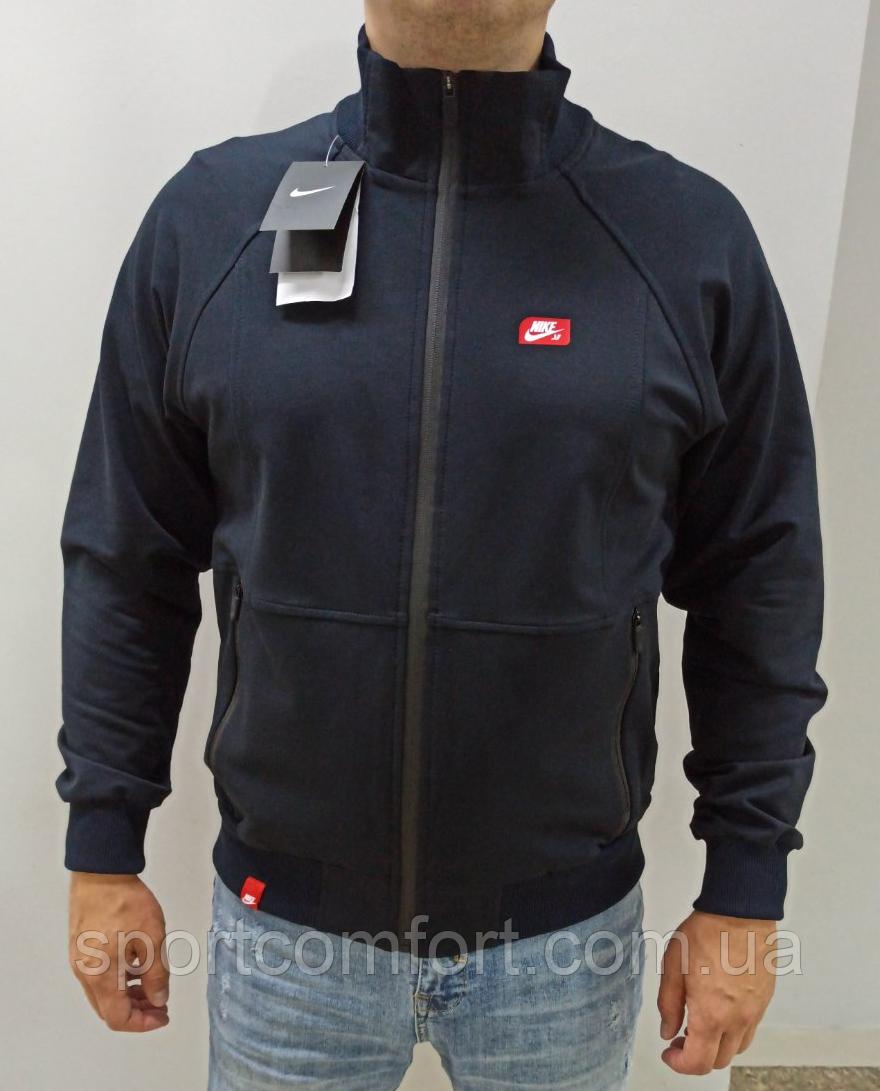 Толстовка мужская Nike т. синяя размер М