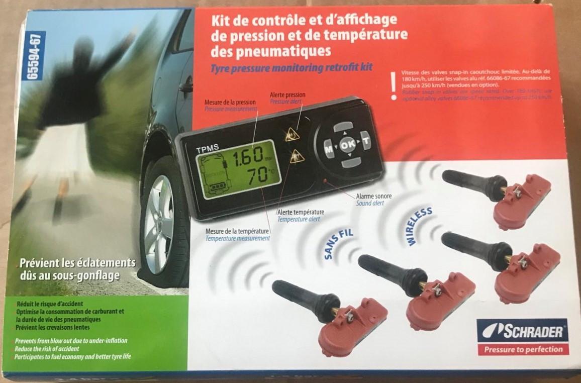 Система контроля давления для легковых автомобилей SCHRADER T65594