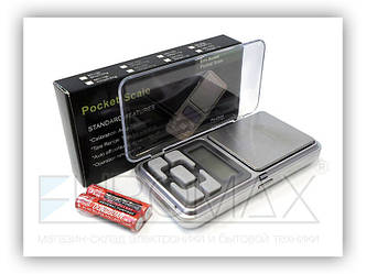 Весы электронные ювелирные 500г 100шт YZ-1724-500G