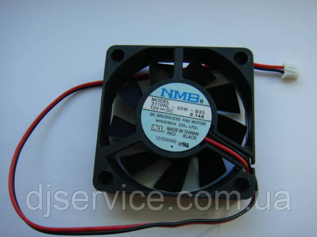 Вентилятор NMB 3110NL-05W-B45 60x60x15mm 12v для голов, усилителей